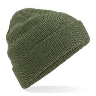 Beechfield Organic Cotton Hat Olive Green