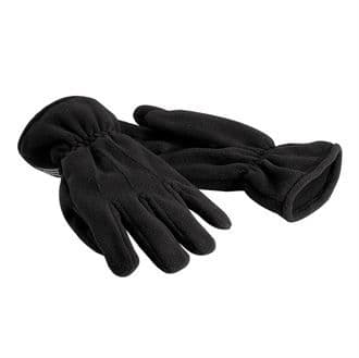 Beechfield Suprafleece® Thinsulate® Gloves Black