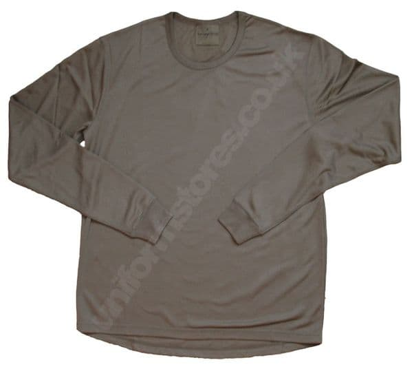 British Army PCS Thermal Long Sleeve Top Olive BRAND NEW