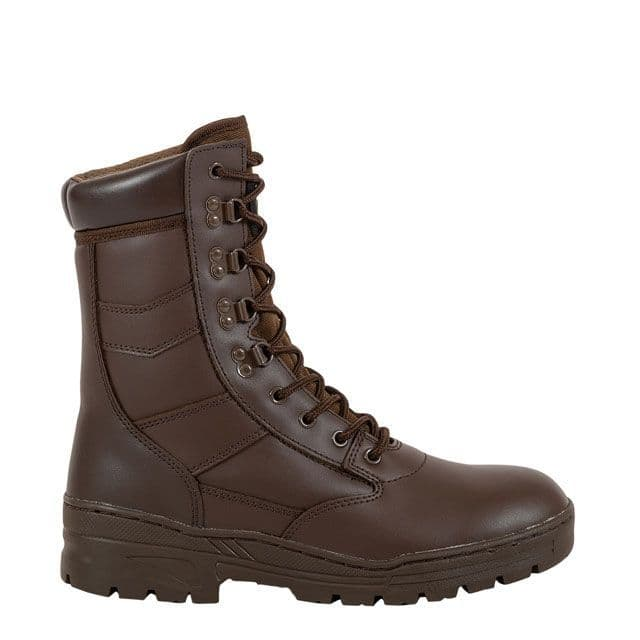 Cadet Patrol Boots Brown Black BRAND NEW