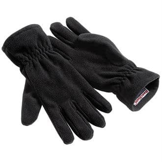 Fleece Gloves Alpine Black