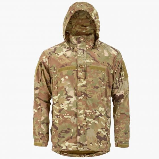 Highlander Commando Jacket Softshell Multi Terrain Camo Black