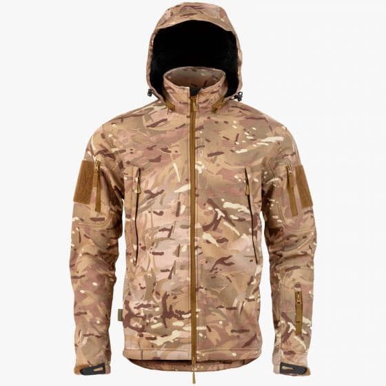 Highlander Tactical Jacket Softshell Multi Terrain Camo