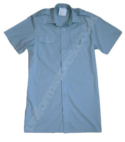 RAF Mans Wedgewood Shirt Short Sleeve