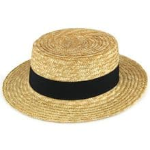 Adults Quality Boater Hat - Gondolier