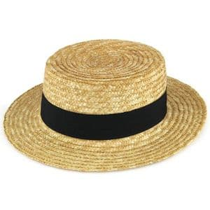 Adults Quality Boater Hat - Gondolier | It's My Hat
