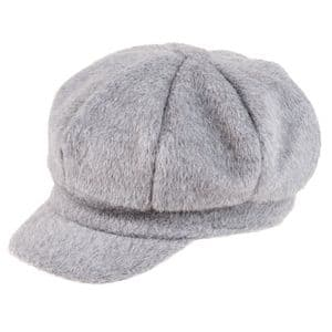 Ladies Grey Bakerboy  / NewsBoy Hat - Supersoft Autumn / Winter Hat | It's My Hat