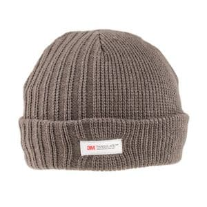 Men's Chunky Thinsulate Thick Woolly Beanie Hat - Dark Grey  It's My Hat