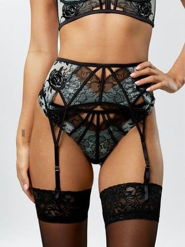 The Treasured Suspender Belt
