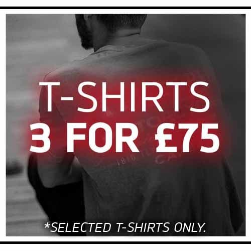 3 Tees for £75