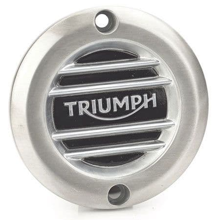 Brushed Clutch Badge - Ribbed