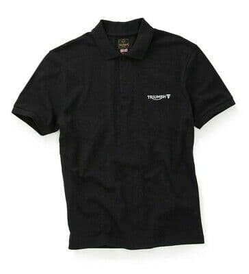 Cumbria Black Polo Shirt