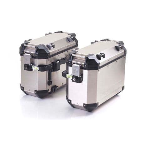 Expedition Aluminium Panniers (Silver)