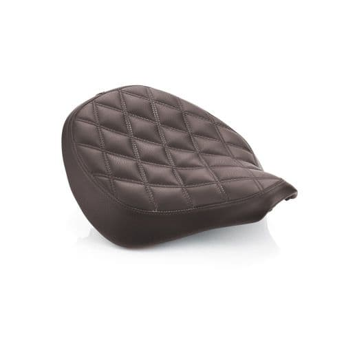 Quilted Seat - Brown