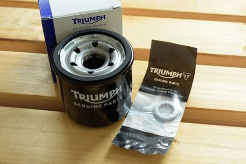 Tiger 800 / SE / Explorer - Genuine Triumph Oil Filter + Sump Plug Washer