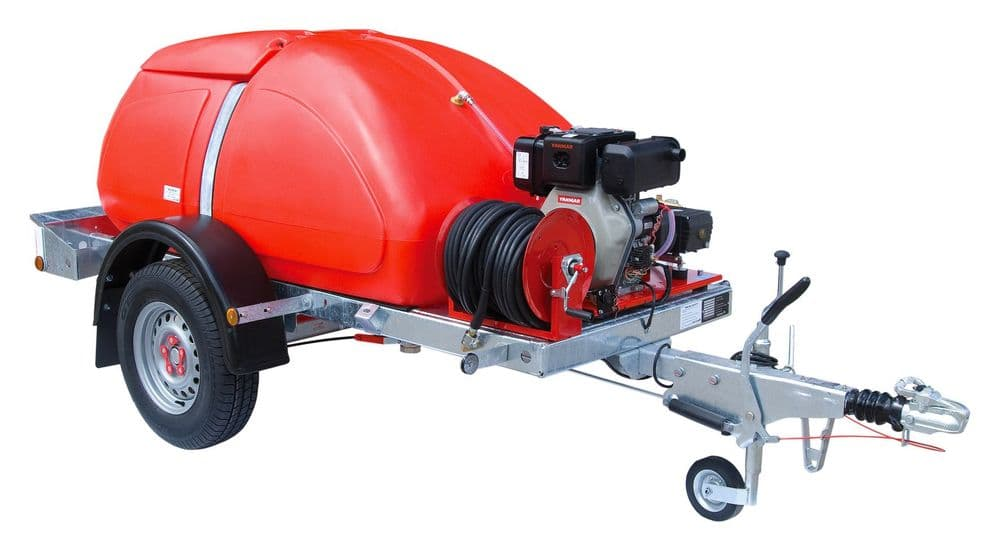 Trailer Bowser Cold Water Pressure Washer PW20-15