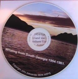 CD of Leith whaling by John Alexander