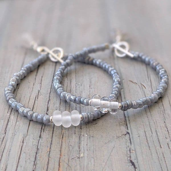 Frosted Sea Simply Charming Bracelet