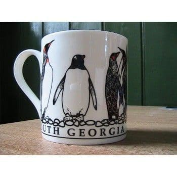 South Georgia china mug