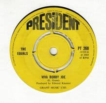 The Equals - Viva Bobby Joe c/w I Can't Let You Go