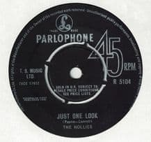 The Hollies - Just one look c/w Keep off that friend of mine