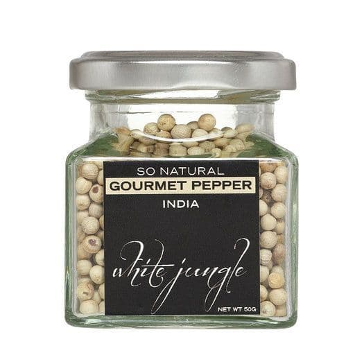 White Jungle Peppercorns (India)