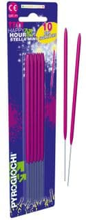 15.5cm Bright Pink Sparklers (Pack of 10)