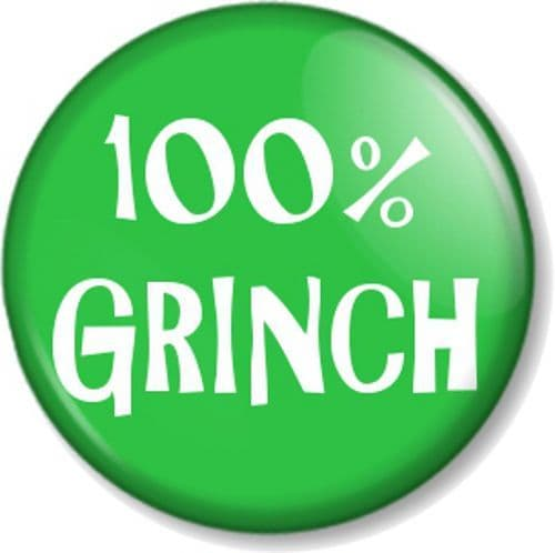 100% Grinch - Dr Seuss - How the Grinch Stole Christmas