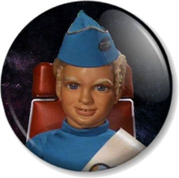 Alan Tracy Thunderbirds Pinback Button Badge Tracy Island International Rescue