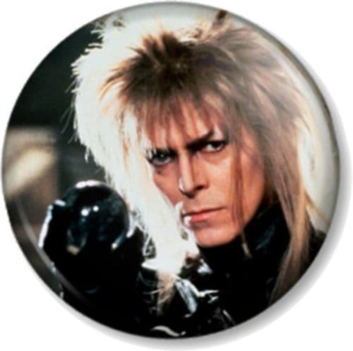 DAVID BOWIE THE GOBLIN KING LABYRINTH Pinback Button Badge Movie Film (3)