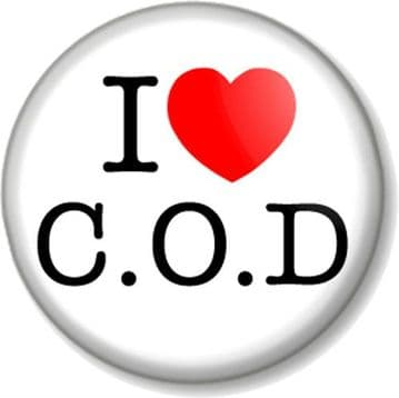 I Love / Heart Call of Duty - COD - C.O.D Pinback Button Badge Gamer XBOX Playstation