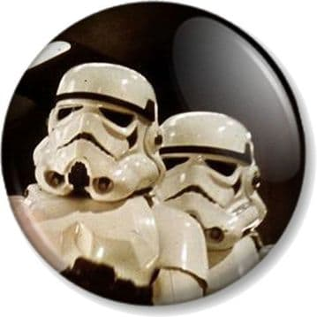 Imperial Stormtroopers Pinback Button Badge Star Wars Character Movies George Lucas