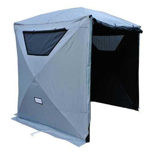 Sound and Film Production Single Skin Blackout Tent - Grey exterior inc. Vents