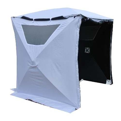 Sound and Film Production Single Skin Blackout Tent - White exterior inc. Vents