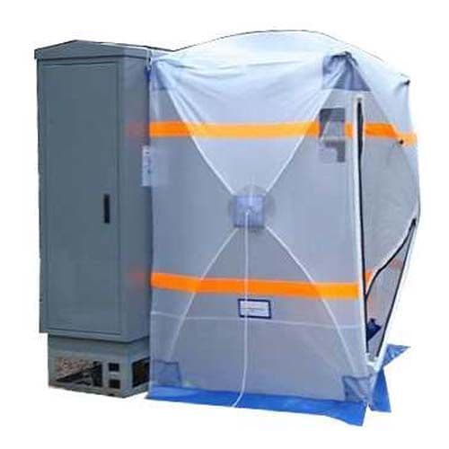 Telecoms  Cabinet Speed Tent