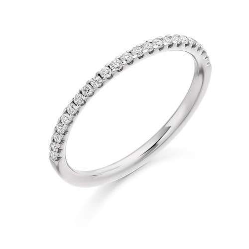 0.25cts Skinny diamond eternity ring