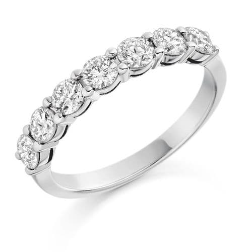 1.00ct Claw set diamond ring