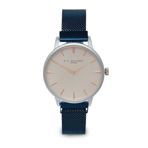 Holborn Magnetic Blue Strap Watch