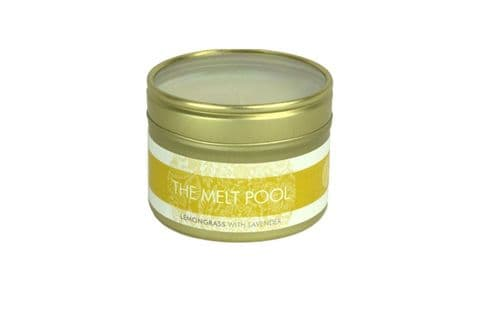 Lemongrass with Lavender Candle - Small Travel Tin