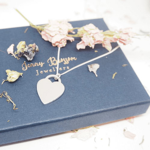 Mrs Hinch style heart necklace
