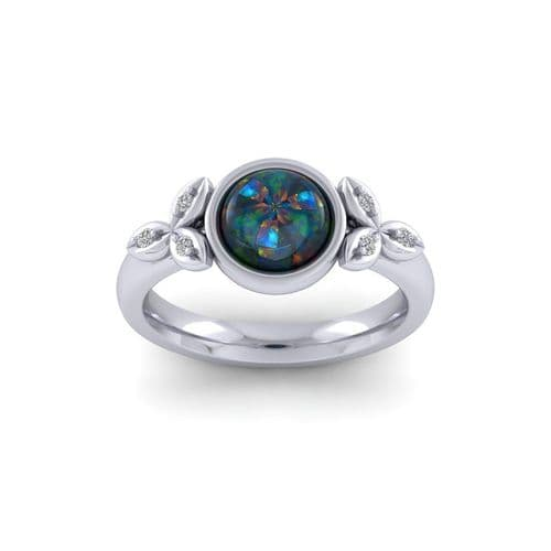 Opal blossom Ring Remodel
