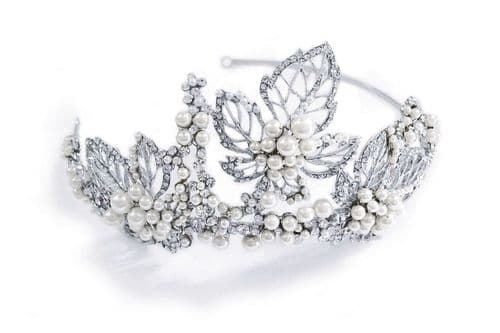 Statement bridal side headband