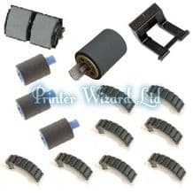 HP LaserJet 4500DN 4550DN 4550HDN C4094A Paper Jam Repair Kit with fitting instructions