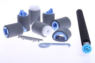 HP LaserJet LJ CP3525 CP3525N CP3525DN Maintenance Roller Kit with Fitting Instructions