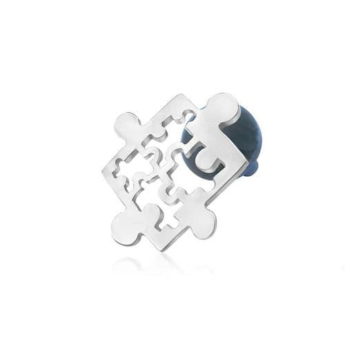 Autism Awareness Sign Pin