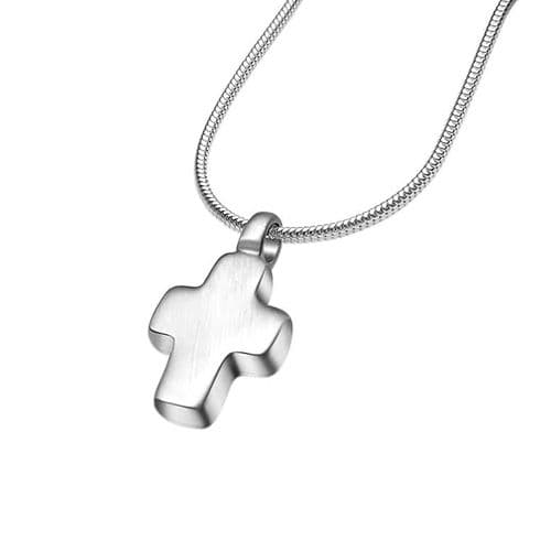Chunky Matt  Cross Necklace
