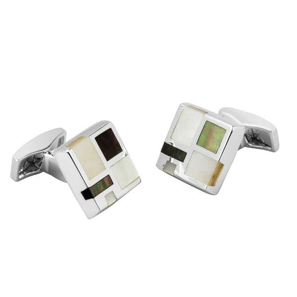 Cufflinks With Mother Of Pearl