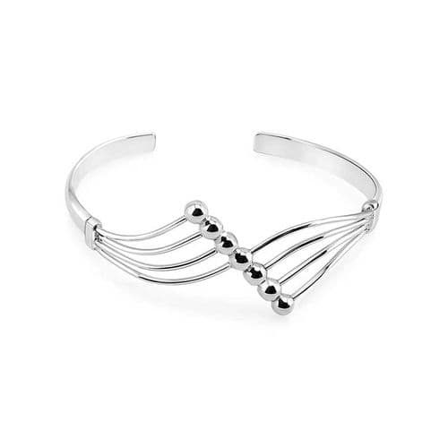 Fan Bead Bangle