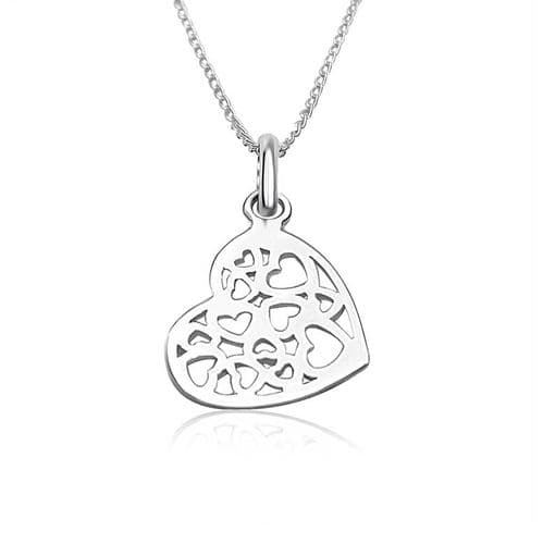 Filigree Hearts Pendant