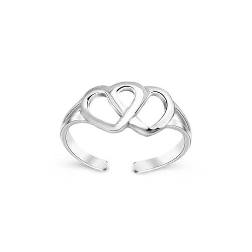 Hearts Toe ring